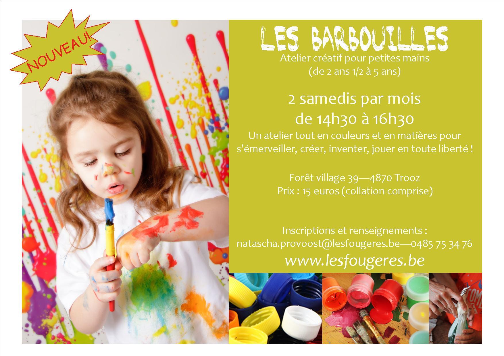 Affiche Barbouilles